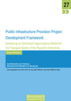 Public Infrastructure Provision Project Development Framework