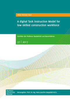 A digital Task Instruction Model for low skilled construction workforce